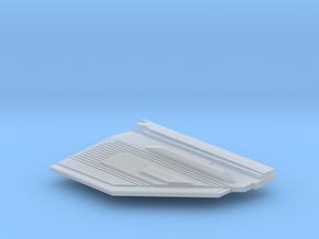 1/1000 Malachowski class - Left Upper Stern in Smooth Fine Detail Plastic