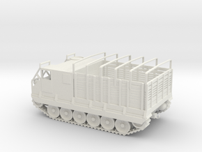 1/72 Scale M8E2 High Speed Tractor in White Natural Versatile Plastic