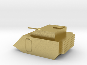 Fox Small Grav Tank 15mm in Natural Brass