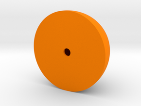 halfellipsoid in Orange Processed Versatile Plastic
