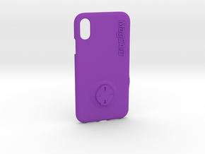 iPhone XR Wahoo Mount Case in Purple Processed Versatile Plastic