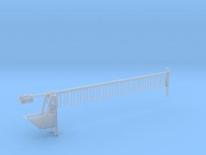 Spoorboom spoor 0 statisch in Smooth Fine Detail Plastic