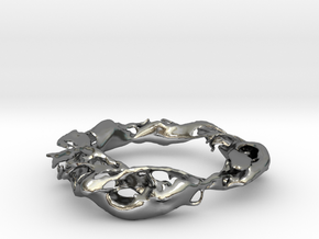 Flow in Polished Silver