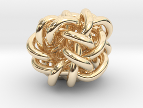 B&G Knot 018 in 14K Yellow Gold