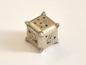 D6 Balanced - Constellations in Polished Bronzed-Silver Steel