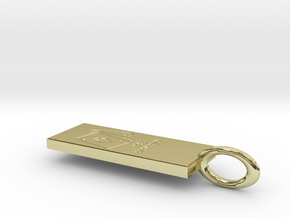 dollar josh in 18K Yellow Gold