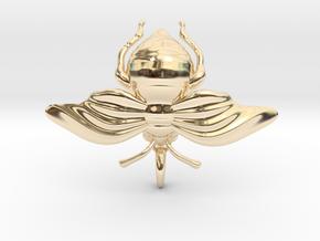 Bumblebee in 14K Yellow Gold