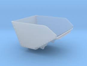 DQWB Ruston Bucyrus Tipper Body (SM32) in Smooth Fine Detail Plastic