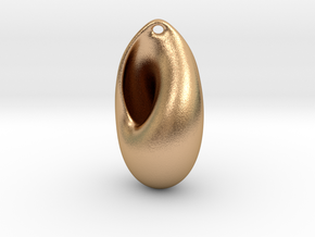Sudanese Moebius Earring  in Natural Bronze