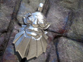 Dota 2 - Sniper Amulet in Polished Silver