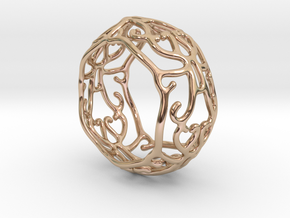 Ivy Ring in 14k Rose Gold Plated Brass