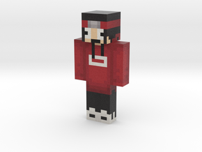 FreakingChicken Red | Minecraft toy in Natural Full Color Sandstone