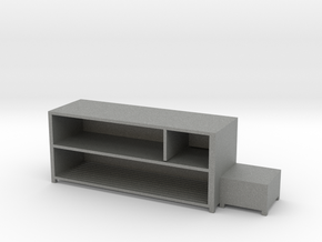 Shoe Rack Cabinet in Gray PA12