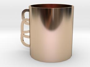 Mug in 14k Rose Gold: Small