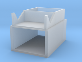 Shoe box in Smooth Fine Detail Plastic