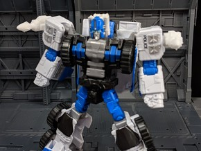 TF Weapon G1 style Magnus Missile Add On in White Natural Versatile Plastic