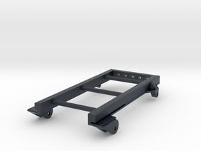 Extended Rear Leaf Spring Frame/Mount in Black Professional Plastic