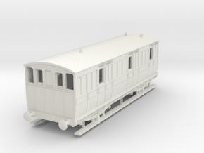 o-76-ger-wcpr-4w-brake-coach-1 in White Natural Versatile Plastic