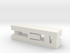 SPARE PART 7700423806 RENAULT in White Premium Versatile Plastic