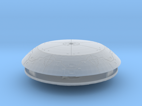 Jovian Space Tug  (5 inches in diameter) in Smooth Fine Detail Plastic