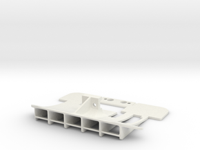 Mini-Z McLaren 12c rear diffuser brushless motor in White Natural Versatile Plastic