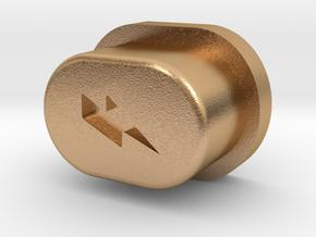Y_Mod V1.0 Engraved Button Only (OG) in Natural Bronze