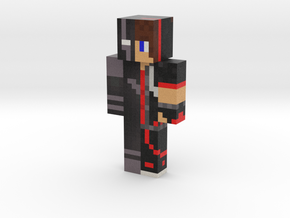 BlackWolfSkin | Minecraft toy in Natural Full Color Sandstone