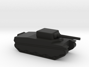 M6 Heavy tank in Black Natural Versatile Plastic