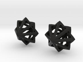 Octo Star in Black Natural Versatile Plastic