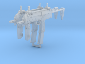 2x 1/10th MP7basic in Smoothest Fine Detail Plastic
