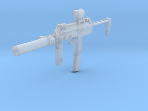 1/10th MP7tactical4 in Smoothest Fine Detail Plastic
