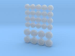 Speakers Loudspeakers for Wargaming Tabletop 28mm in Smoothest Fine Detail Plastic