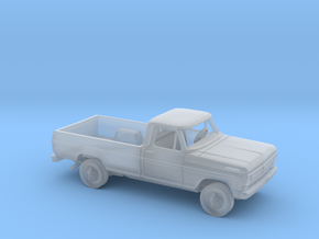 1/87 1970-72 Ford F-Series RegCab LongBed Kit in Smooth Fine Detail Plastic