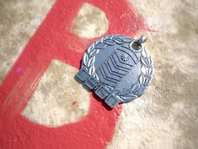 CS:GO Silver Elite Pendant in Polished Silver