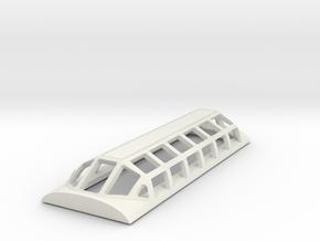 Strata Dome Baltimore & OHIO in NScale  in White Natural Versatile Plastic