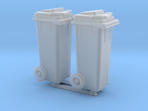Kliko garbage can - 1:50 - 2X in Smooth Fine Detail Plastic
