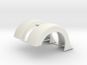 Revell Swept Front Fender Pair in White Natural Versatile Plastic