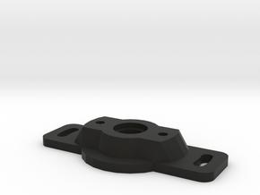 Miata\MX5 Variable TPS Adapter plate in Black Natural Versatile Plastic