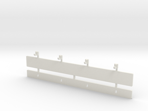Part B Dressing room stool (for 1:10/1:12 figure)  in White Natural Versatile Plastic
