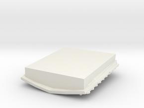 1/1000 ISD Hangar in White Natural Versatile Plastic