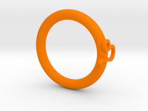 Star language: Leo in Orange Processed Versatile Plastic