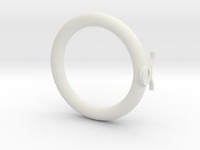 Star language: Taurus in White Premium Versatile Plastic