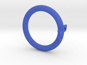 Star language: Capricorn in Blue Processed Versatile Plastic