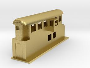 Behelfsstellwerk KASSEL Stellwerk Switching Box 1: in Natural Brass