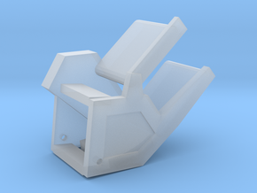 thrower in Smooth Fine Detail Plastic