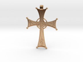 A Cross for All Christians in Polished Bronze