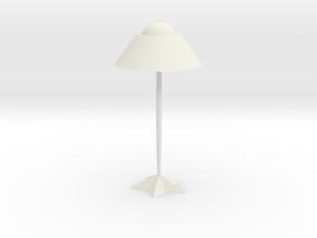Luxury simple table lamp in White Natural Versatile Plastic