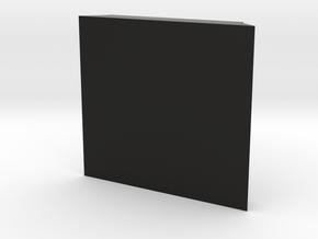 TeleScopix Mount Cover - 2 Slots Plate in Black Natural Versatile Plastic