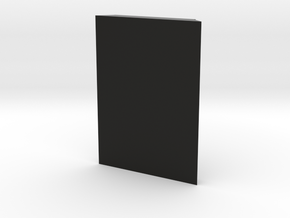 TeleScopix Mount Cover - 3 Slots Plate in Black Natural Versatile Plastic