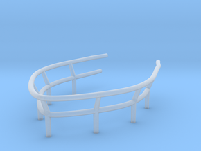 1/72 U-Boot U-441 Railing 1 for Conning Tower in Smooth Fine Detail Plastic